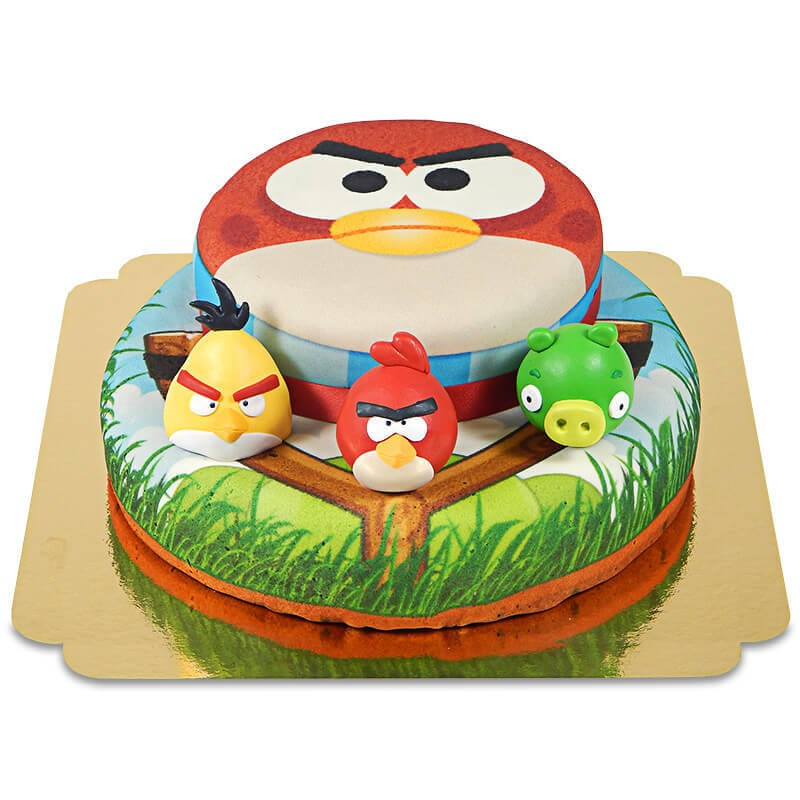 Un gâteau d'anniversaire très personnalisé